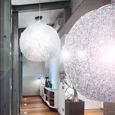 Lampen Fuer Schlafzimmer Glamouröse Hängeleuchte Aus Glänzendem Chrom Salamanca Lampen