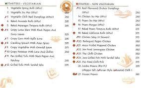 asia kitchen menu asia kitchen by mainland china menu koramangala bangalore magicpin