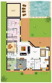 Villa Moderne Tunisie by Cuisine Ideas About Plan Maison Plain Pied On Plan Les Plans Des
