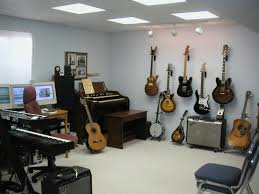 Home Music Studio Ideas by Interior White Home Music Studio Interior Paint Color Design With