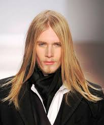 male models with long straight hair a model walks the runway at the mik cire fall 2010 fashion show