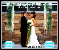 wedding arches rent miami acrylic wedding arch altar and column rentals in los angeles