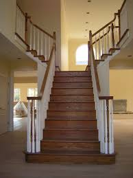 Cheap Banister Ideas Wooden Stairs Design