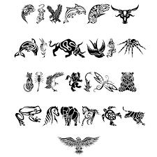 tribal animals designs dingbats tattoowoo com