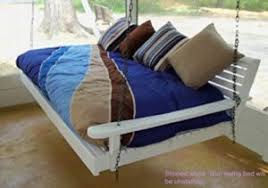 cypress porch swing bed review
