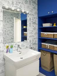 sea style bathroom interior and decorating inspiration home nautical wallpaper kids beach themed bathroom decoration