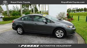 2013 used honda civic used honda civic sedan at royal palm toyota serving wellington