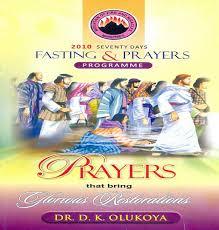 mfm 70 days prayer and fasting programme 2010 begins prayers