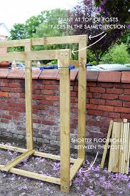 How To Build A Shed From Scratch Uk by To Build A Log Store