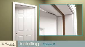 Installing Prehung Interior Doors How To Install Prehung Interior Doors With Split Jamb Www Napma Net