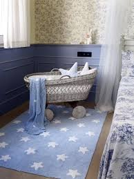 lorena canals washable rug blue stars white amazon co uk baby