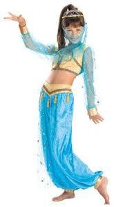 Belly Dance Halloween Costume Belly Dancer Harem Genie Costume Blue Silver 5227 Www