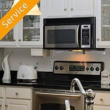 how to install over the range microwave without a cabinet over the range microwave oven installation first time amazon com