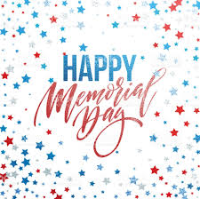 happy memorial day card national american holiday festive poster