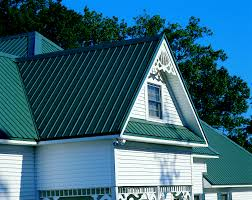 Pyramid Roofing Houston by Residence Max Rib Panel In Evergreen Residential Metal
