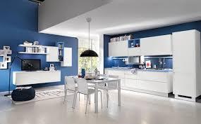 cuisine bleu ciel design interieur plan de travail cuisine bleu ciel armoires sans