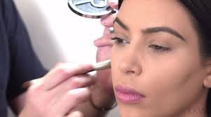 how to be a makeup artist s make up artist creates a glamorous look on the