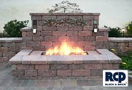 Brick Firepit Photo Gallery Outdoor Pit Idea Gallery