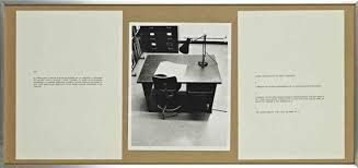 le bureau de victor victor burgin performative narrative le bureau