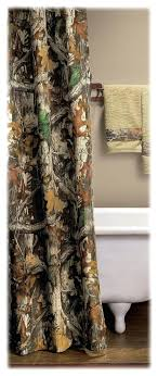 Realtree Shower Curtain Camouflage Curtains Natandreini