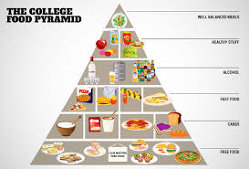 the college food pyramid around the world food