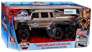 jurassic park car mercedes jurassic world mercedes benz g63 amg 6x6 r c car by jada wantitall