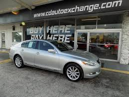 lexus sedan 2007 2007 lexus gs 350 awd 4dr sedan in fort myers fl c u0026 d auto exchange