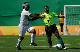 Paralympics Blind Football Paralympic Pele Brazil Hails Blind Soccer Star Abs Cbn Sports