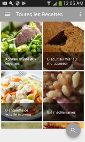 Recettes Cuisine Am Multicuiseur Android Apps On Play