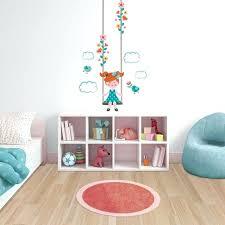 stickers chambre bébé fille pas cher stikers chambre fille sticker mural au motif enfant fille fillette