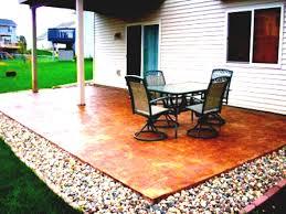 Concrete Paver Patio Designs by Concrete Patio Design Ideas Cheap Garden Paving Plain Abbe