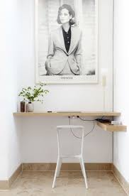 Wall Mounted Desk Ideas 35 Space Saving Wall Mounted Furniture And Decor Ideas Digsdigs