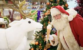 selfridges launches its christmas store with 143 shopping days to