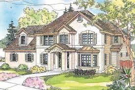 European Style House Plans European House Elevations