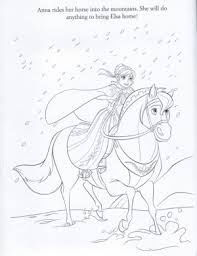 frozen anna elsa kristoff olaf coloring printable free coloring