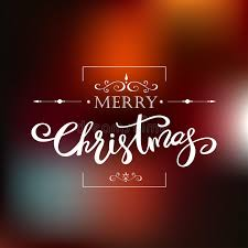 template merry christmas greeting card holiday lettering design