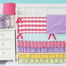 Bright Crib Bedding Rainbow Bright Crib Bedding Set From Rosenberry Rooms Crib