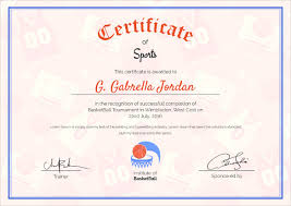 certificate of completion indesign template images certificate