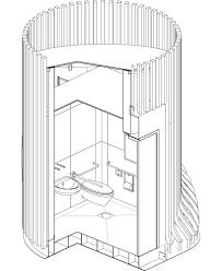 public restroom floor plan schleifer u0026 milczanowski architekci public toilet for gdansk