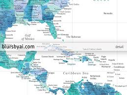 Charlotte Usa Map by Printable Map Of The Usa Mexico And The Caribbean Sea In