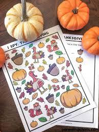 free thanksgiving i printable parenting chaos