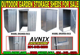Storage Shed For Backyard by Steel Backyard Outdoor Garden Storage Shed Kits For Sale Made In Usa