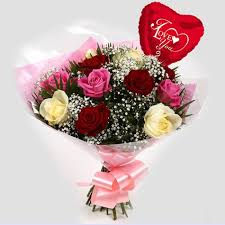 free delivery flowers you balloon sweet melody roses bouquet free delivery