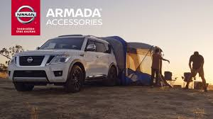 nissan armada 2017 2017 nissan armada accessories expand the possibilities youtube