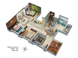3 bhk house plan home architecture download bhk house plans waterfaucets 3 bhk