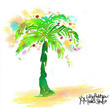 palm tree christmas lilly 5x5 lilly pulitzer pinterest palm