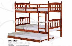 Bunk Bed With Pull Out Bed Lovely Decker Bunk Bed Modern Solid Wooden Decker