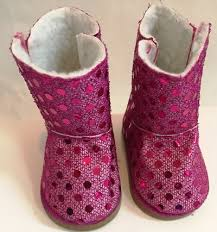 s ugg type boots pink sequin doll ugg style boots liza byrd boutique