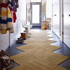 awesome traditional brown zigzag shape color entryway rugs on dark