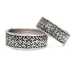 slavic wedding ring etsy